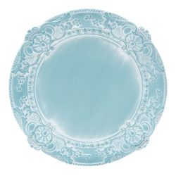 Leontine Pale Blue Charger Plate