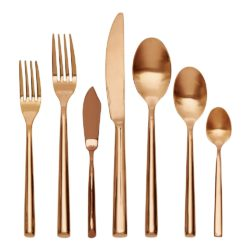 Grace Rose Gold Cutlery